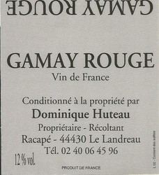 bag in box 5 l gamay rouge